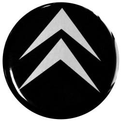 Emblematy na kołpaki i felgi do CITROEN, silikonowe 3D (zamienniki)
