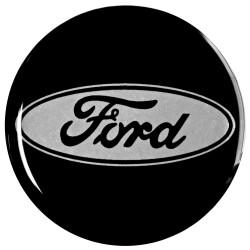 Emblematy na kołpaki i felgi do FORD, silikonowe 3D (zamienniki)