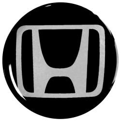 Emblematy na kołpaki i felgi do HONDA, silikonowe 3D (zamienniki)
