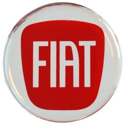 Emblematy na kołpaki i felgi do FIAT, silikonowe 3D (zamienniki)