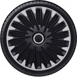 Kołpaki 14 cali Quantum Pro Silver Black