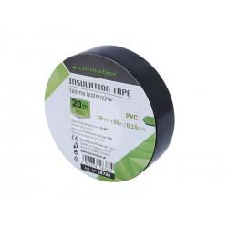 Taśma izolacyjna PVC 0,15mm x 19mm x 20m czarna