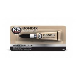 BONDIX K2 Klej do plastiku drewna gumy 3g kropelka